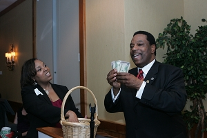 CHAMBER GIVES AWAY MONEY