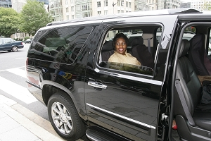 MC Townsend Escorted By Limo In DC