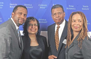 Tavis Smiley- Cheryl Woodruff- Weldom Woodruff - Connie Briscoe